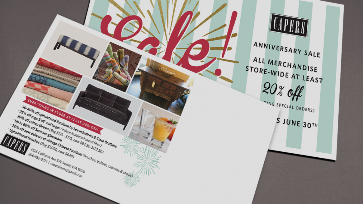 Anniversary Sale – Capers Home